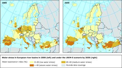 Water Stress Europe